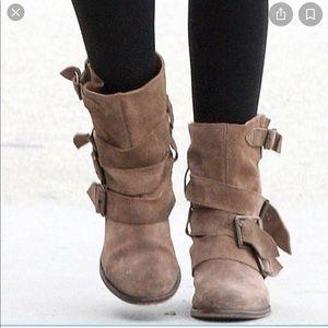 Free People Sunbelt ankle boot - beige